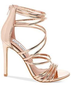 ea191960bca2 Steve Madden s Santi sandals merge a jaw-dropping stiletto heel with an  ultra-strappy design that wraps up your look in scene-stealing  sophistication.