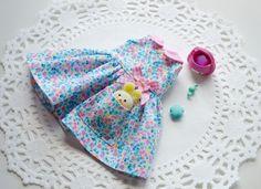 Sweet Petite Yellow Bunny in my Pocket Dress by SweetPetiteShoppe