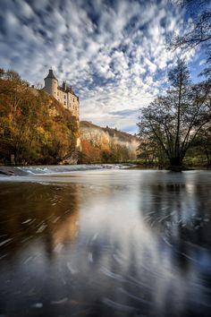 ~~Château de Walzin   castle, Dinant, Belgium   by Sus Bogaerts~~
