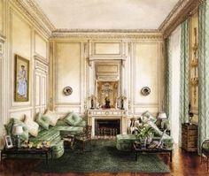 Habitually Chic® » A Royal Residence