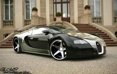 Nice Cars With Rims | Bugatti with new wheels, nice!