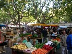 A market not to be missed!  Uzes, France