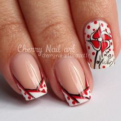 Instagram Cherry Nail Art, Hair Beauty, Instagram Posts, French Nails, Windmill, Ongles, Cute Hair