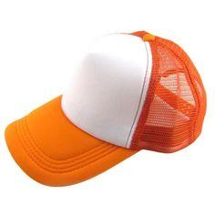 Caps 2017 Unisex Casual Hat Solid Baseball Cap Trucker Mesh Blank Visor Hat Adjustable snapback baseball cap bone masculino