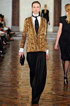 Ralph Lauren Fall 2012 Collection | Gold |Gold |Gold