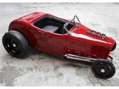 1932 Ford Custom Pedal Car by Fastlane Rod Shop