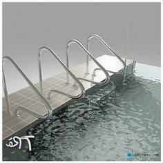 1000 images about swiming pool on pinterest above ground swimming pools pool ladder and - Above ground pool steps for handicap ...