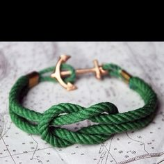 nautical rope bracelet  I bet they sell these at the knot store #portlandia