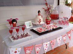 todi: {Customer Parties} Kokeshi Doll Japanese theme Birthday Party