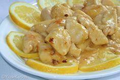 Bocconcini di pollo al limone   Vica in cucina