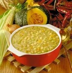 ♪ Porotos con mazamorra, a yummy typical Chilean stew. I Love Food, Good Food, Yummy Food, Chilean Recipes, Chilean Food, South American Dishes, My Favorite Food, Favorite Recipes, Comida Latina
