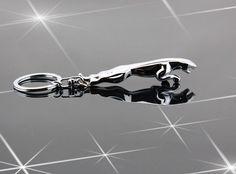 Jaguar леопардовый head брелок металл брелок стерео Jaguar брелок купить на AliExpress