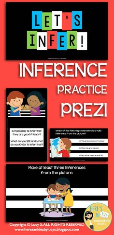 $ Inference Practice Prezi - inferring from pictures