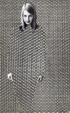 Collage: Face, Hands by Bob May #art #pattern