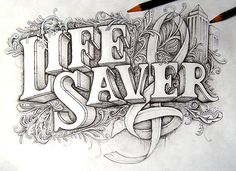 type-lovers: LIFE SAVER Designed by Joachim Vu. | Must be printed