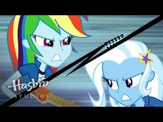 "MY LITTLE PONY: Equestria Girls 2: Rainbow Rocks EXCLUSIVE Short - ""Guitar Centered"""
