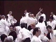 Tamura Nobuyoshi Sensei 2001 - Aikidolehrgang in Linz