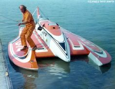 '75 U-74 Weisfield's classic unlimited class hydroplane hydroplanes hydro hydros racing boat boats
