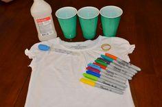 Coolest way to tye dye...DIY Sharpie Tie Die