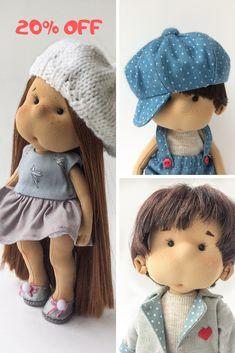 Nursery decor doll Handmade fabric doll Beautiful handmade doll Ready to ship doll Cute art doll Decorative doll Soft baby doll Redhair doll #artdolls #readytoshipdoll #handmaderagdoll #mothersdaygifts