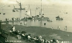 Leigh-on-Sea. Leigh On Sea, London Places, Old Photos, Places Ive Been, Childhood, Age, Ideas, Old Pictures, Infancy