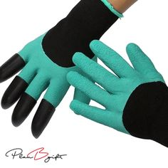Buy 1 Pair &Get Second at 50% OFF Be prepared for the gardening season with these amazing Clawed Easy Gardening Gloves. With these gloves there really is no need for any other tools when attending to your plants. The claws on one of the gloves are made from super strong ABS Plastic and will protect your fingers and nails perfectly while allowing you dig, rake and grab soil, dirt and rocks. With the other non clawed hand you can grab and hold plants while the clawed hand does all the...