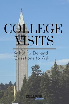 So it's time to get serious about the college search. Here are some questions to ask on a college visit and what you should do while there. Going Back To College, New College, College Campus, College Life, College Success, Boston College, College Planning, Year Planning, College Notebook