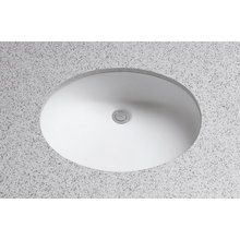 "View the Toto LT579G Rendezvous 17"" Undermount Bathroom Sink with Overflow and SanaGloss Ceramic Glaze at FaucetDirect.com."