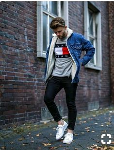 Most Popular Trend Fashion 2018 For Men Casual Outfit 30 Trendy Mens Fashion, Dope Fashion, Fashion 2018, Street Fashion, Mode Masculine, Casual Outfits, Men Casual, Fashion Outfits, Herren Outfit
