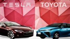 Tesla Motors Inc And Toyota Battle Over How To Power An Electric Car