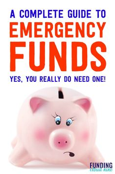 An emergency fund can save the day & reduce your financial stress. Find out how much you need, how to build an emergency fund, & where to store it. Ways To Save Money, Money Tips, Money Saving Tips, Living On A Budget, Frugal Living Tips, Frugal Family, Budgeting Finances, Budgeting Tips, Financial Stress