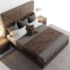 model Besclothes available in MAX, OBJ, FBX, bed bedclothes bedcover, ready for animation and other projects Bedroom Bed Design, Bedroom Furniture Design, Bed Furniture, Bedroom Sets, Home Bedroom, Bedding Sets, Furniture Ideas, Bed Back Design, Double Bed Designs