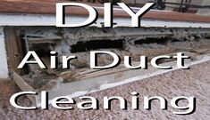 Video to show you how you can clean your own air ducts for free