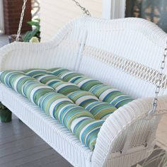 Coral Coast Casco Bay Resin Wicker Porch Swing with Optional Cushion Seagrass contemporary outdoor swingsets Wicker Porch Swing, Wicker Couch, Wicker Headboard, Wicker Shelf, Wicker Bedroom, Wicker Tray, Wicker Table, Porch Swings, Outdoor Swings