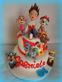 Paw Patrol cake - Cake by Eleonora Ciccone