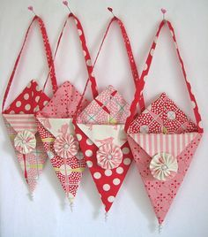 Love these!  Made with Swell and Sweet fabrics!!