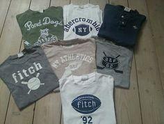 Abercrombie  7 T-Shirt's - Verkäufer: seadwellergmt