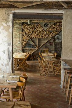 inspiration: cool, rustic restaurant in brooklyn - isa