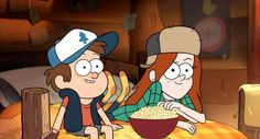 Gravity Falls- the best of Mabel Hinata Hyuga, Naruto Uzumaki, Gravity Falls Dipper, Gravity Falls Art, Dipper Pines, Mabel Pines, Fall Pictures, Some Pictures, Dipper And Wendy