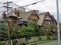 Shingle style mansion, Mason Street, Greenwich, Connecticut