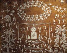 ART INDIEN ADIVASI - Peinture aborigène d'Australie et d'ailleurs