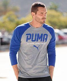Puma Style Baseball Tee