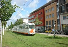 Rieselfeld, Freiburg: Eco-village, 15-minute tram ride from the city center. Integrates dense and vertical three- to five-story living with generous green and open spaces in between. Cyclists and pedestrians have priority, and only one out of every 10 residents owns a car.
