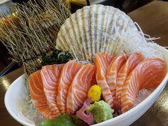 Salmon sashimi...   #food #晚餐 #아침식사 #朝食 #ランチ #夕食 #早餐 #맛있는 #旅遊 #旅 #레스토랑 #餐廳 #음식 #食 #foodphotography #wongnai #tripadvisor #travelthailand #aroii #foodporn #instafood #foursquare #foodstagram#foodblogger #foodies