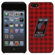 Portland Trail Blazers iPhone 5 Snap-On Case - Red - $14.99