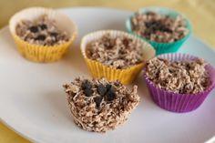 Carob Clusters:  Vegan, Gluten fr, Dairy fr, Sugar fr, Yeast fr