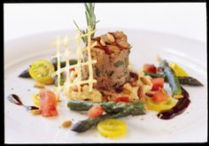 Food creation at the Sporthotel Valsana Valsana Hotel Group Restaurant Bar, Restaurants, Pure Products, Group, Food, Restaurant, Meals, Diners