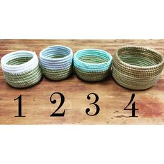 We just can't get over these $12 hand-painted baskets & we want to share them with you!  To purchase, comment below with your email and number basket! #jobcreation #Lesotho
