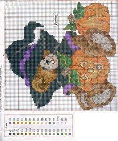 calendar bears punto cruz