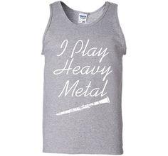 I Play Heavy Metal Funny Clarinet T-shirt T-Shirt